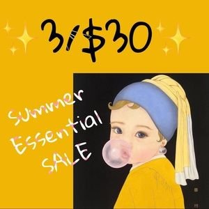 ✨3 for $30✨Summer Essential SALE